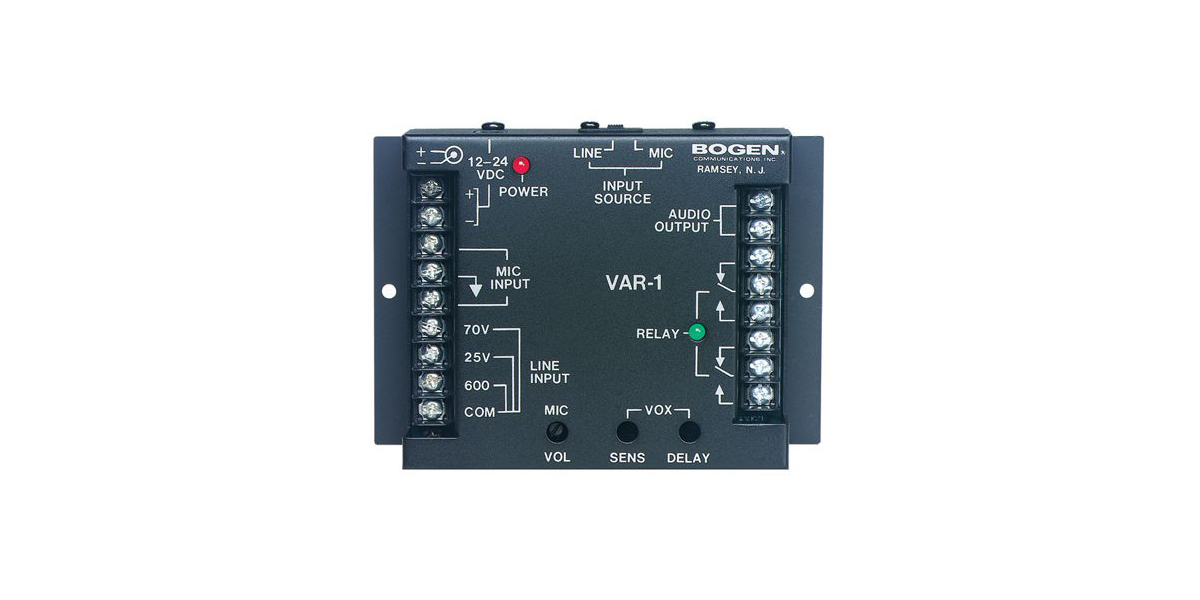 Voice-Activated Relay